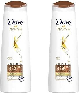 Dove Shampoo Nourishing Oil, 2 x 400ml