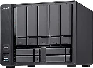 QNAP(キューナップ) TVS-951X 10GBASE-T/NBASE-Tポート内蔵、 10GbE接続対応の9ベイマルチメディア NASサーバー