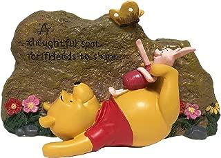 pooh bear garden statue