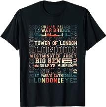 London Souvenir City Vintage British UK Flag Men Women Gift T-Shirt