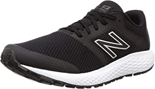 new balance Men's 420 Black/Silver Running Shoe