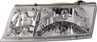 HEADLIGHTSDEPOT Chrome Housing Left Driver Headlight Compatible With Newmar Mountain Aire (37ft) 2000-2004 Motorhome RV