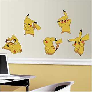 RoomMates Pokemon Pikachu Peel And Stick Wall Decals - RMK3596SCS, Multi