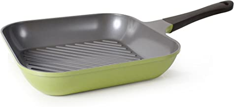 Neoflam Eela 11-Inch Grill Pan with Bakelite Handle and Ecolon Non-Stick Coating
