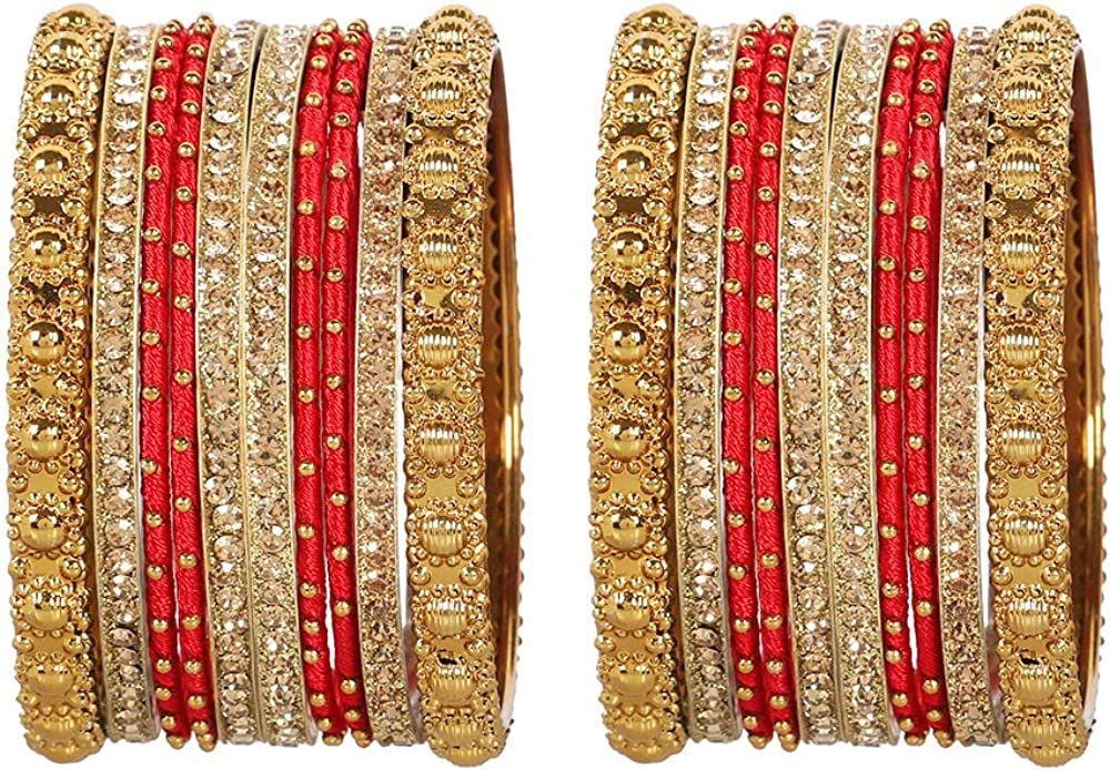 GLINT STORE Women Amazing Indian Bollywood Fashion Amazing Multi Color Bangles Party wear Jewelry
