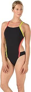 Speedo Women's Vee 2 Endurance Lite One Piece Swimsuit