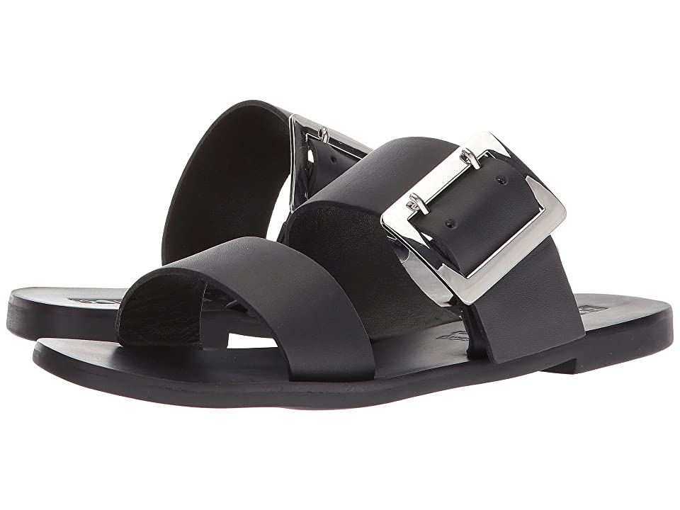 Sol Sana April II Slide (Black) Women