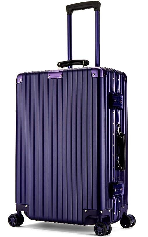 ファンネルウェブスパイダー科学的静脈LNMLAN アルミニウムマグネシウム合金フレーム スーツケース 機内持ち込みスーツケース 預け入れスーツケース 旅行バッグ キャリーバッグ TSAロック 静音キャスター1608