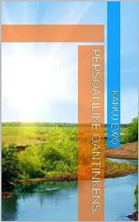 Persoanlike oantinkens. (Frisian Edition)
