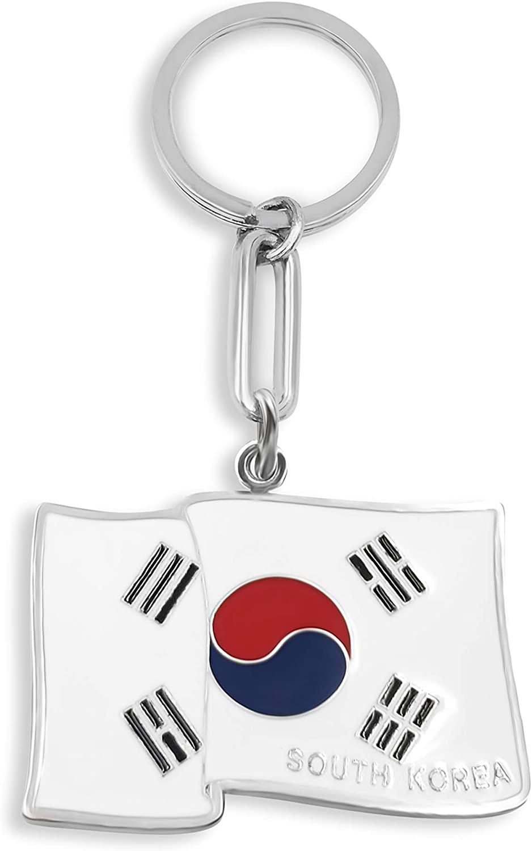 Keychain SOUTH KOREA FLAG