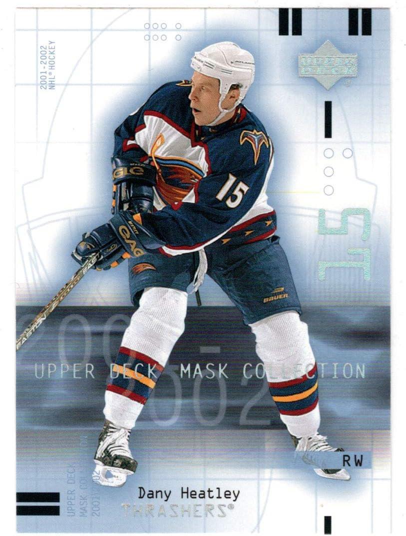 Dany Max 52% OFF Heatley - Atlanta Thrashers 2001-02 Dec Hockey Upper Max 62% OFF Card