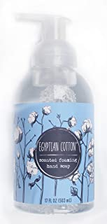 Egyptian Cotton Scented Foaming Hand Soap