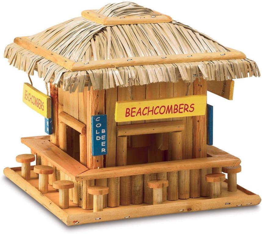Koehler 34715 8.25 Inch Beach Max 53% OFF Outdoor Birdhouse Hangout New product!! Decor