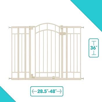 """New Evenflo Secure Step Metal Gate 29-42"""" Original Box"""