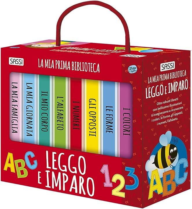 Leggo e imparo. la mia prima biblioteca. ediz. illustrata (italiano) 978-8868603960