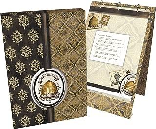 Lang 2016003 Honey & Grey Vertical Recipe Card Album by Lori Siebert, Assorted