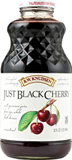 KNUDSEN JUICE JUST BLACK CHERRY, 32 FO