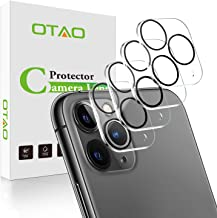 (4 Pack) OTAO Camera Lens Protector for iPhone 11 Pro/iPhone 11 Pro Max (6.5 inch) Tempered Glass,Anti-Scratch HD Clear Ca...