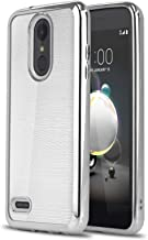 Phone Case for [LG Rebel 4 LTE (L212VL, L211BL)], [Chrome Series][Silver] Shockproof Soft TPU [Electroplated Bumper] Cover for LG Rebel 4 (Tracfone, Simple Mobile, Straight Talk, Total Wireless)