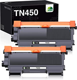 JARBO Compatible Toner Cartridge Replacement for Brother TN450 TN-450 TN420 TN-420 Toner Cartridge (2 Black, High Yield), ...