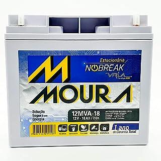 Bateria Moura 12mva-18 Estacionaria Nobreak 12v 18ah