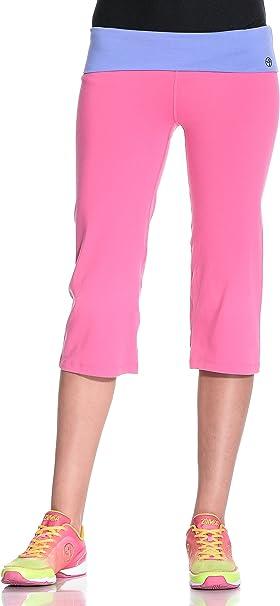 Zumba Fitness Damen Wb Leggings Flash Flare Capri Berry M Amazon De Sport Freizeit
