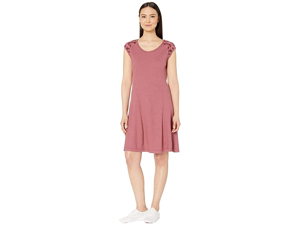 Royal Robbins Flynn Scoop Neck Dress (Rose Dust) Women