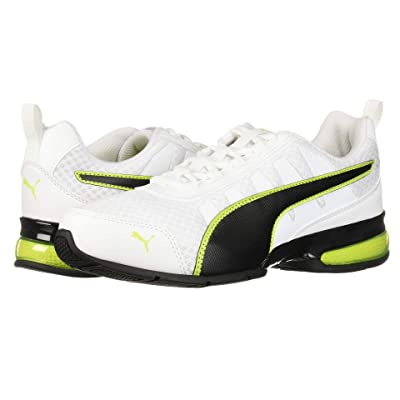 PUMA Leader VT Mesh (Puma White/Acid Lime) Men