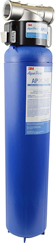 3M Aqua Pure Whole House Sanitary Quick Change Water Filter System AP903 Reduces Sediment Chlorine Taste And Odor