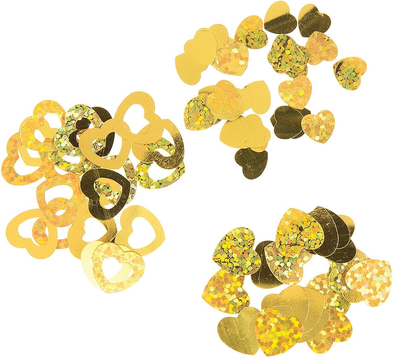 Darice Confetti 24G-Gold Hearts B01LZ956AU   Innovation  Innovation  Innovation  6b8b64