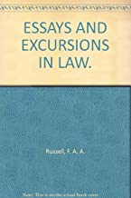 Essays and excursions in law,