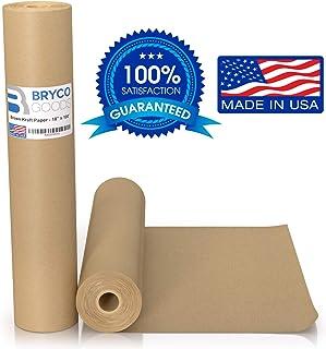 Rollo de papel kraft café – 45,7 x 1,200 pulgadas (100&#