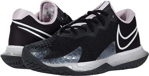 Black/White/Pink Foam/Dark Smoke Grey