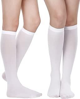 Women Knee Socks Boot Stockings High Socks Cosplay Socks for Christmas Festival Party Decorations