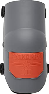 KP Industries Knee Pro Ultra Flex III Knee Pads - Gray and Orange