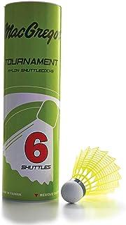 MacGregor Tournament Shuttlecocks  6/Tube