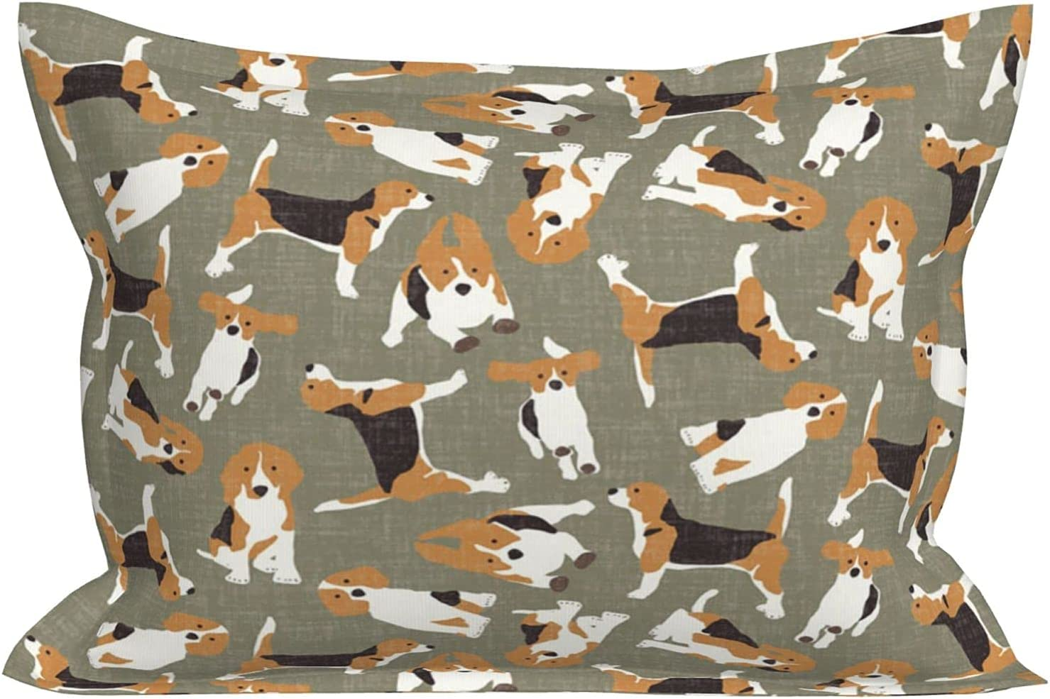 huaxian Pillowcase for Hair and Health Ranking TOP11 Pattern Max 87% OFF Beagle Skin Dog