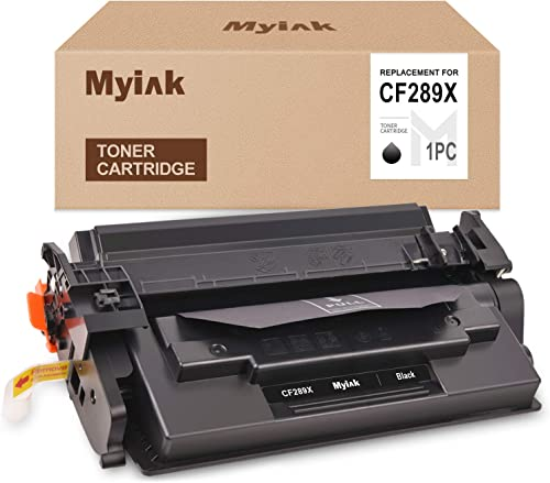 discount MYIK high quality (No Chip) Compatible Toner Cartridge Replacement for HP 89X CF289X CF289A popular Use with HP Laserjet Enterprise M507 MFP M528 Series (1 Black) online sale
