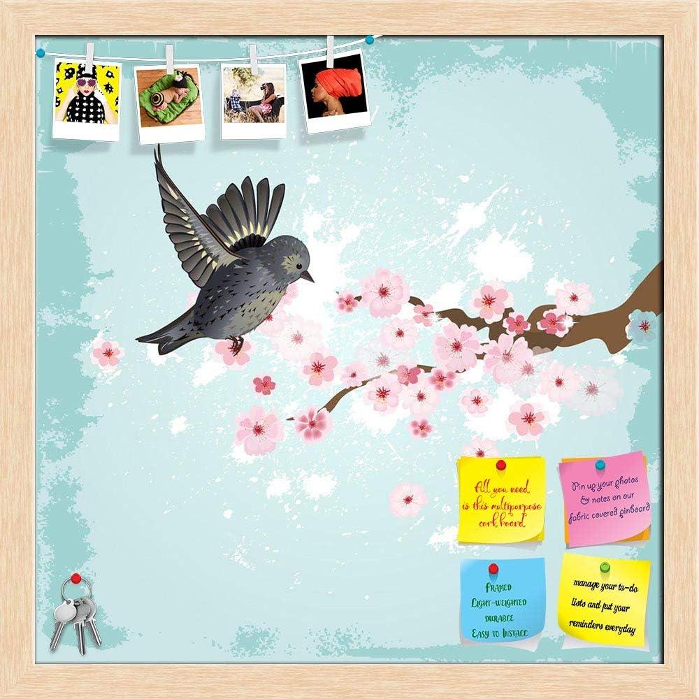 Artzfolio Cute In a popularity Bird D3 Printed Notice Pin Boston Mall Bulletin Board