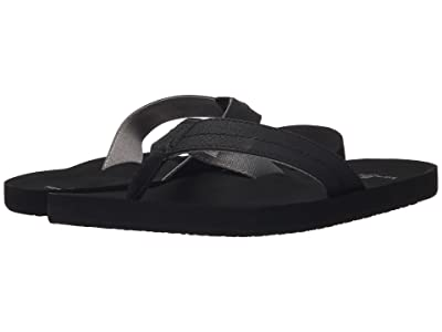 Sanuk Burm (Black/Charcoal) Men