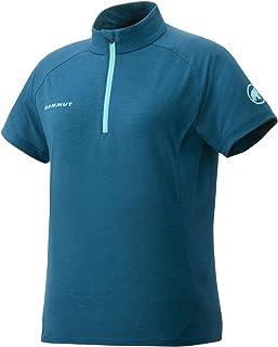 [マムート] パフォーマンス ウール ジップ Tシャツ レディース 1041-08590
