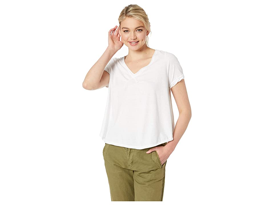 Free People All You Need Tee (Ivory) Women