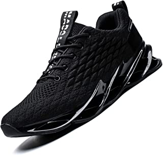 Mens Running Shoes Breathable Walking Blade Non Slip...