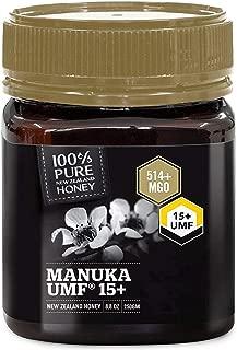Pure New Zealand UMF 15+ Raw Manuka Honey - All Blacks Official Licensed - 8.8 oz / 250g