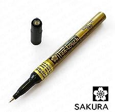 Sakura - Pen-Touch Paint Marker - Extra Fine 0.7mm - Gold - Single