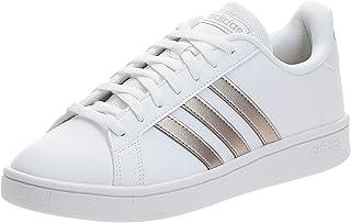 adidas Grand Court Base, Sneakers Donna, Ftwbla/Metpla/Ftwbla, 40.5 EU