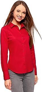uk availability 16ff4 15a82 Amazon.it: camicia donna elegante - Rosso / Bluse e camicie ...