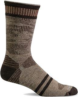 Sockwell Men's Camo Crew Moderate Graduated Compression Sock