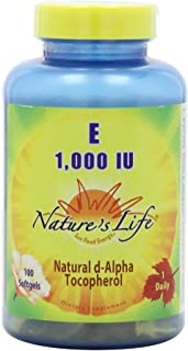 Nature's Life Vitamin E, 1,000 IU   100 ct