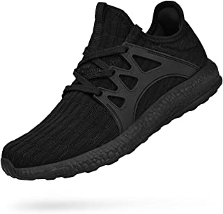 solid black athletic shoes